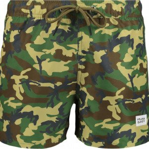 Frank Dandy Breeze Long Bermuda All-Over Printed Swim Shorts Uimashortsit