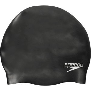 Speedo Plain Moulded Silicone Cap Uimalakki